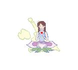 ヨガスタジオククルロゴ絵.png